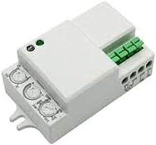 ElectroDH 60252RFMIN DH DETECTOR MOVIMIENTO POR MICROONDAS.MINI, blanco