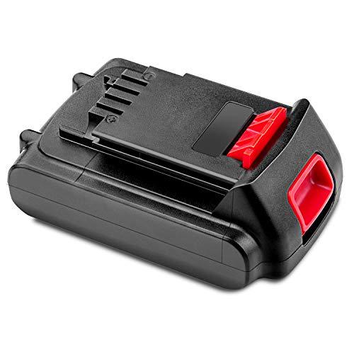 LabTEC LBXR20 20V 3500mAh Batería de litio de repuesto para black and decker batería de 20v LB20 LBX20 LBXR20 LB2X4020 Batería de herramienta eléctrica inalámbrica