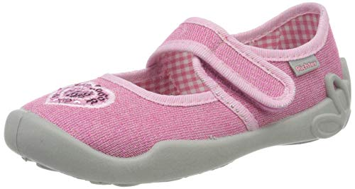 Richter Kinderschuhe Mädchen Niedrige Hausschuhe, Pink (Fuchsia (Heart) 3500), 30 EU