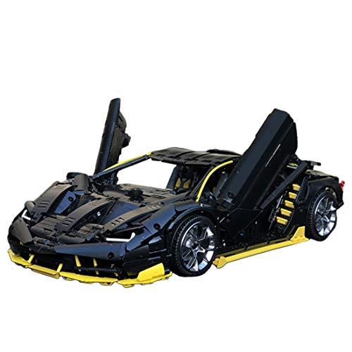 DXX Technik Bausteine Auto Für Die Veneno Lamborghinis Roadster Modell Bausteine Konstruktionsspielzeug Kompatibel mit Lego Technic, 3789Teile