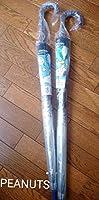 スヌーピーPEANUTS ビニール傘 2本セット