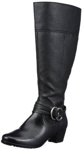 Jenny Manchester-St 03-69126-71, Damen Fashion Stiefel, Schwarz (schwarz), EU 38.5 (UK 5.5)
