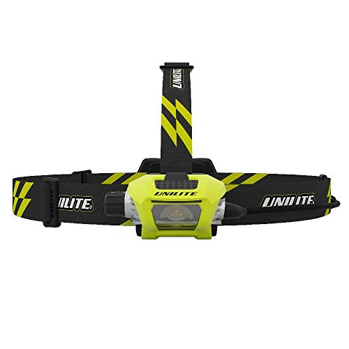 Unilite RAIL HDL9R Industrial High Power USB Rechargeable CREE LED Head Torch Network Rail Approved 750 Lumen Micro USB Charging Cable Included 4 to 260 Hours Run Time FREE Car Air Freshener