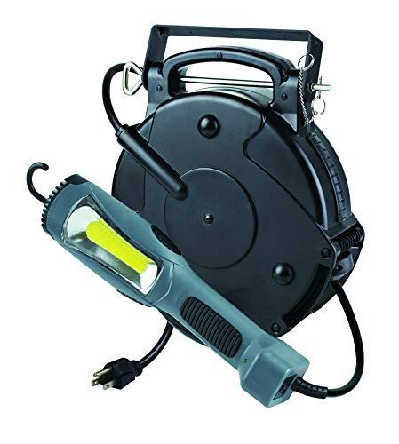 Hot New Item Professional Heavy Duty Retractable Reel Garage Shop Auto Repair LED Work Drop Pulldown Light 1300 Lumens 8150MM
