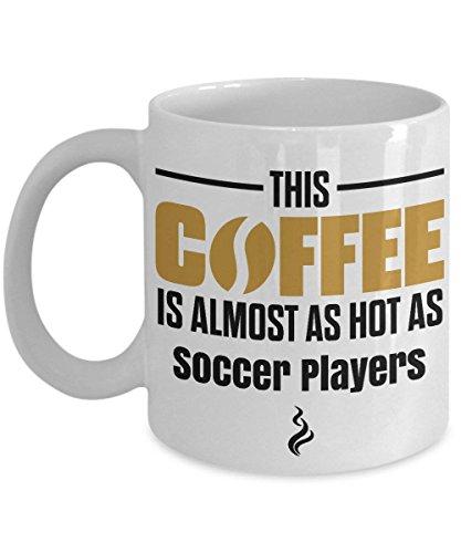 DKISEE Cadeau voor voetballer, voetballer witte koffiemok, voetballer witte koffiemok, voetbal speler geschenken 11oz Kleur: wit