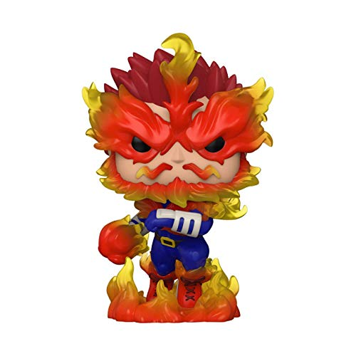 Funko- Pop Animation: My Hero Academia-Endeavor Figura Coleccionable, Multicolor (48470)