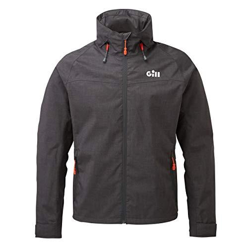 Gill - Giacca da pesca impermeabile da uomo, Uomo, giacche da pesca, IN81J, Grafite, M