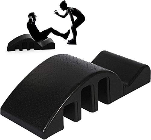 Skoliose Corrector, Yoga Pilates-Massage-Bett, Pilates Zurück Bending Spine Corrector, Schmaler Rücken / Schulter-Yoga Ausrüstung, Pilates Arc Barrel, Back Pain Relief for Yoga Studio / Verein / Haus