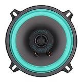 Explopur Altavoz del Coche,1x 5 `` 100W Altavoz coaxial de Alta fidelidad para automóvil Puerta del vehículo Auto Audio Música Estéreo Altavoces de frecuencia de Rango Completo para automóviles