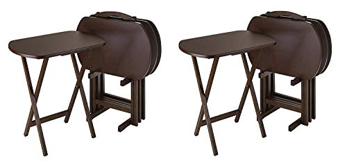 Winsome Wood TV Tray Set (Pack of 2)