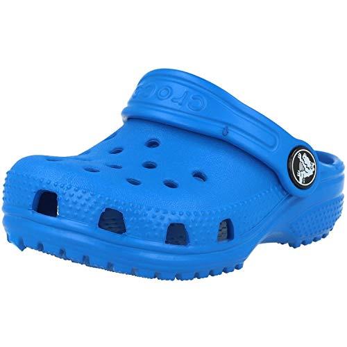 Crocs Classic Clog K, Zuecos Unisex Niños, Azul (Bright Cobalt), 33/34 EU