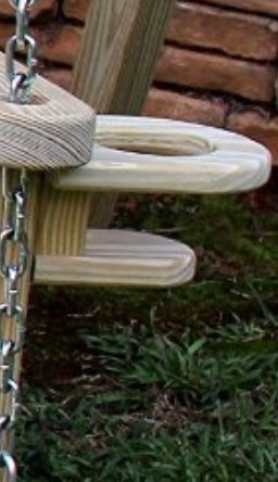 Ecommersify Inc Two Cup Holder for attaching to The arm of 5FT OR 4FT Amish Swings