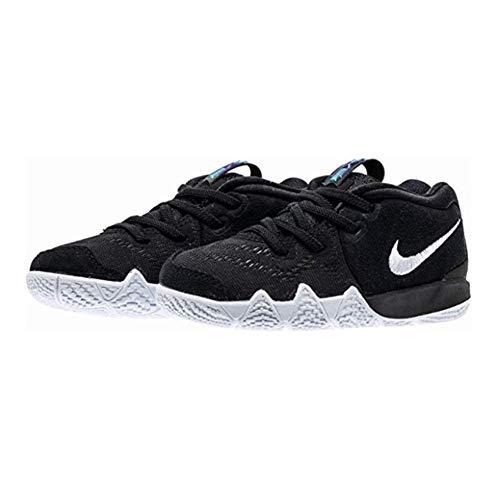 Nike Kyrie 4 Toddler Boys Shoe Black/Anthracite/Light Racer Blue/White (7C)