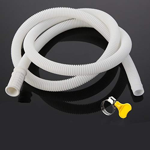 YPASDJH Manguera semiautomática Universal de la Lavadora 1M-10M El desagüe del Aire Acondicionado Puede Extender el baño de la Cocina de la Cocina de Salida de los Accesorios de Manguera para
