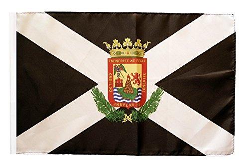 Flagge / Fahne Spanien Teneriffa + gratis Sticker, Flaggenfritze®