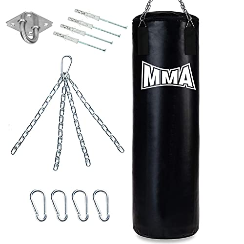 Boxersack 120x30 cm MMA Boxsack Hängend...