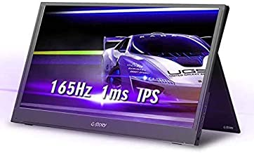 G-STORY Portable Monitor - 17.3 Inch 165Hz 144Hz 1ms 1080P FHD IPS Screen USB C Portable Gaming Monitor with Type-C Mini H...