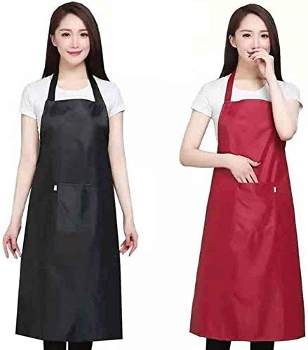 Home Waterproof Rubber Vinyl Apron Best for Staying Dry When Dishwashing Lab Work Butcher Dog product image