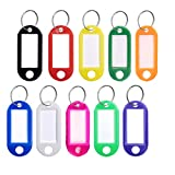 Key Tags with Split Ring 20 PCS ...