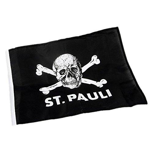 St Pauli Fahne Totenkopf 100x150 - eine Größe
