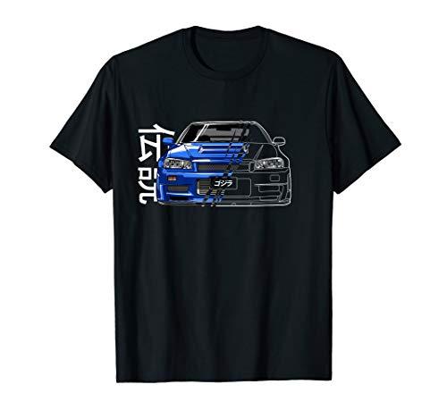JDM Legend Retro Gaming Racecar Tuning Car T-Shirt