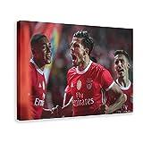 Póster de fútbol portugués Rúben Dias Manchester City Football Club Defender Style 6, lienzo para decoración de la sala de estar, dormitorio, marcos de 40 x 60 cm