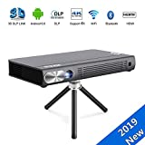JOEAIS Mini Projecteur, WiFi 3D Portable  Vidéoprojecteur 200ANSI 300' Grande Photo...