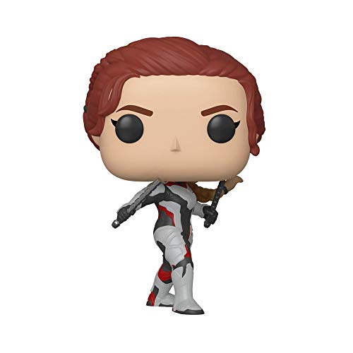 Marvel- Pop Bobble: Avengers Endgame: Black Widow Collectible Figure, 36665, Multicolore