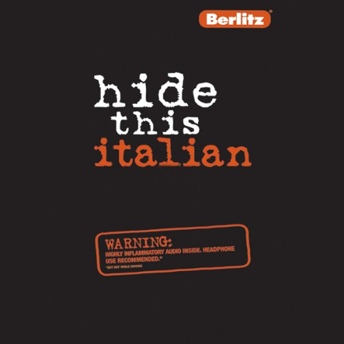 Hide This Italian audiobook cover art