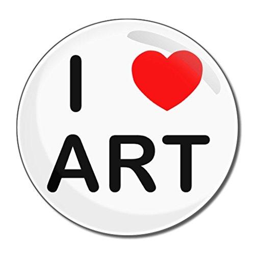 I love Art - Miroir compact rond de 77 mm