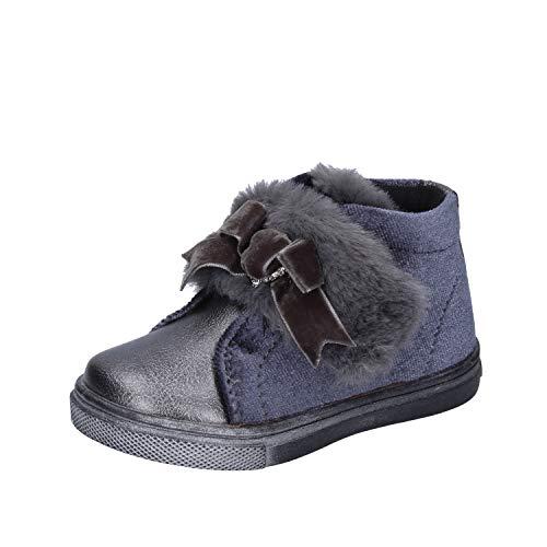 Asso Sneakers bébé Fille Velours Gris 21 EU