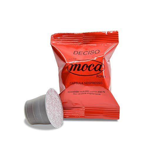 Caffè Moca Capsule Compatibili Nespresso Caffè Deciso - 100 Capsule