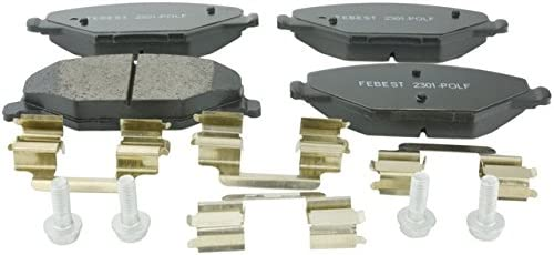Pad Kit Disc Brake Front Fashionable - Oem Febest 6RU698151A Safety and trust 2301-POLF