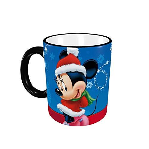 330ML Taza de cerámica Tazas de café Mic-Key Mou-Se Taza de té para oficina y hogar, regalo divertido