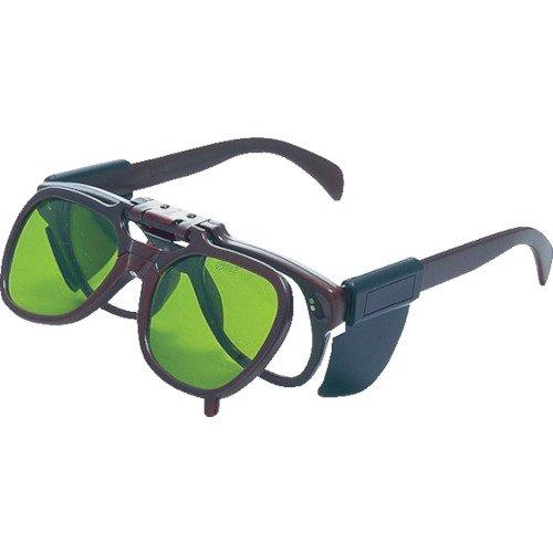 TRUSCO(トラスコ) 複式上下自在型遮光メガネ 強化ガラスレンズ#4 TDSG-G4