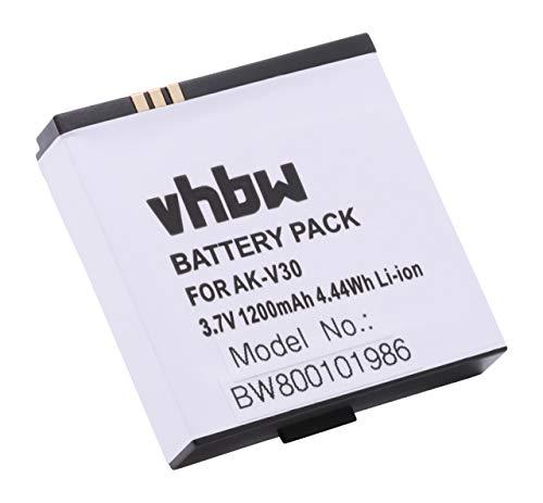 vhbw Akku passend für Emporia Time Handy Smartphone Senioren Handy (1050mAh, 3,7V, Li-Ion)