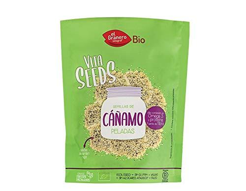 El Granero Vitaseeds Semillas De Cañamo Peladas 200Gr. Bio 400 g