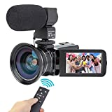Best Camcorder For Huntings - Camcorder Video Camera Kimire HD 1080P 16X Powerful Review