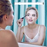 LED Makeup Lights, Portable Vanity Mirror Lights | Simulated Daylight | 4 Brightness Level Touch Control | Rechargeable, Wireless Vanity Lights