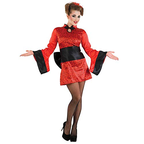 Leuke Shack FN3698S kostuum, Vrouwen, Geisha, Klein