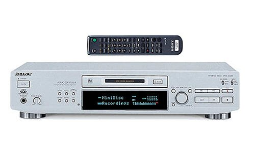 Sony MDS-JE530/S MiniDisc-Deslizante de Plata