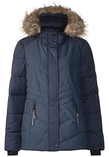 Cecil Damen B201134 Jacke, Blau (Deep Blue 20128), Small