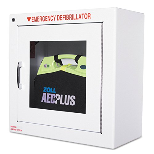 """ZOL80000855 Zoll Medical 9"""" Standard Wall Cabinet for AED Plus, White"""