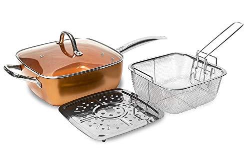 Sarten cooper chef, Sarten, Freidora, apta para horno