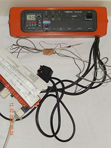 VIESSMANN Trimatik-MC 7410 065-A Heizungsreglelgerät mit Digitalschaltuhr, Kesselfühler und Kabel mit Adapter, war kurz in Betrieb, geprüft in TOP Zustand
