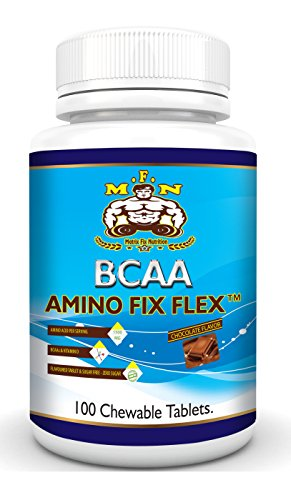 BCAA-Amino FIX Flex (Chocolate Flavour, 100 Chewable Tablets)