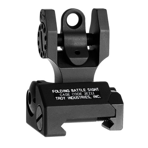 Troy Industries Folding Battle Sight Rear (Black)