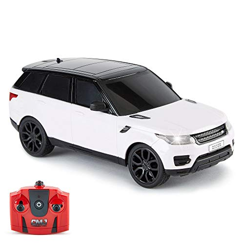 CMJ RC CarsTM Range Rover Sport Remote Control Car 1:24 scale with Working...