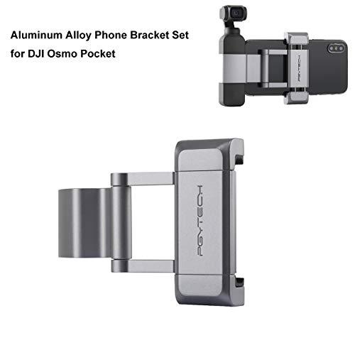 Tineer Handheld Aleación de Aluminio Soporte para Soporte de Teléfono Móvil Plegable Plus para dji Osmo Pocket Gimbal Cámara Accesorio