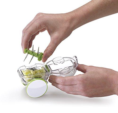 Chef'n 102-125-011 Garlic Zoom – arugula / meringue - 7
